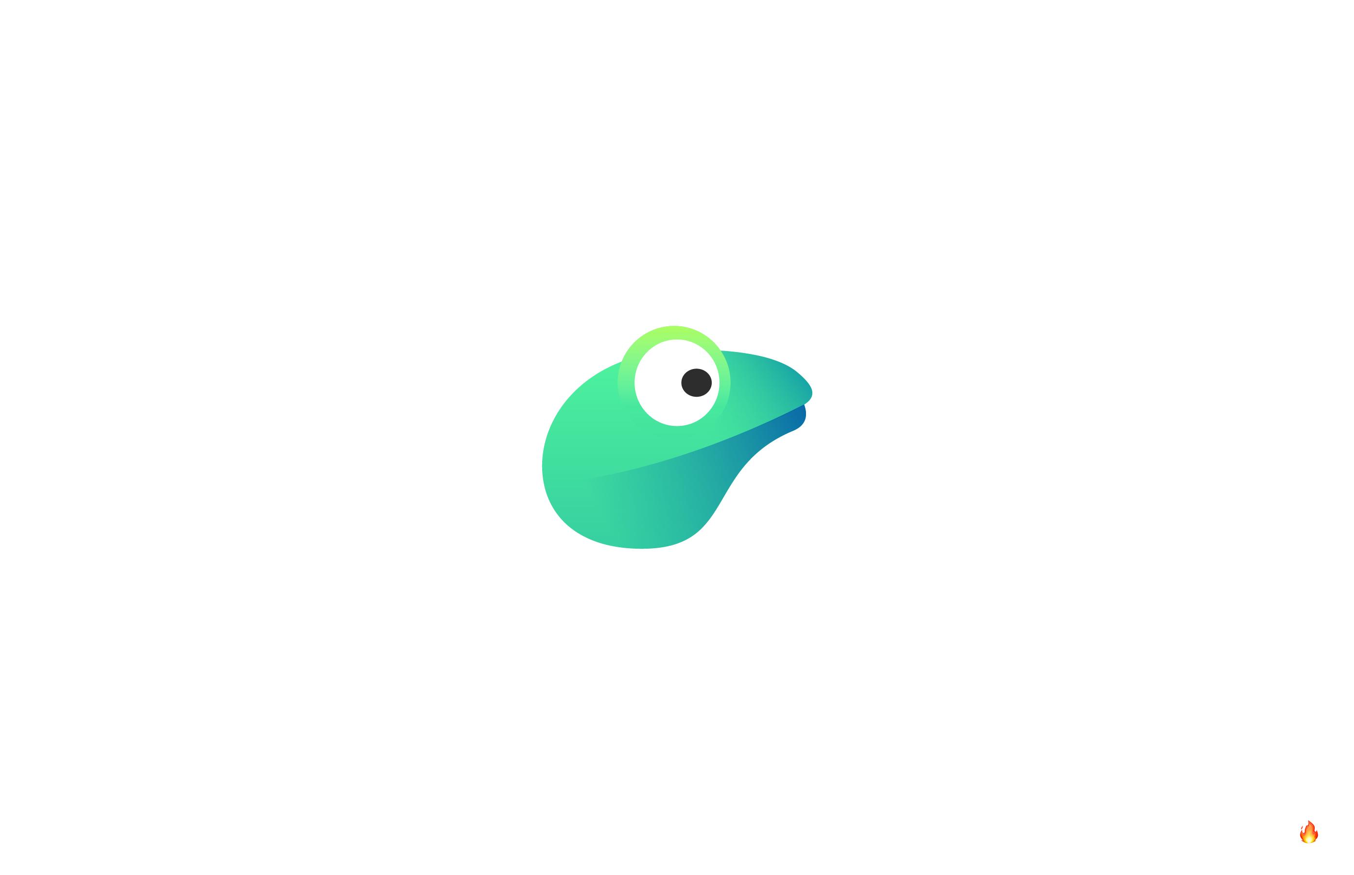 frog logo design tropical forest
