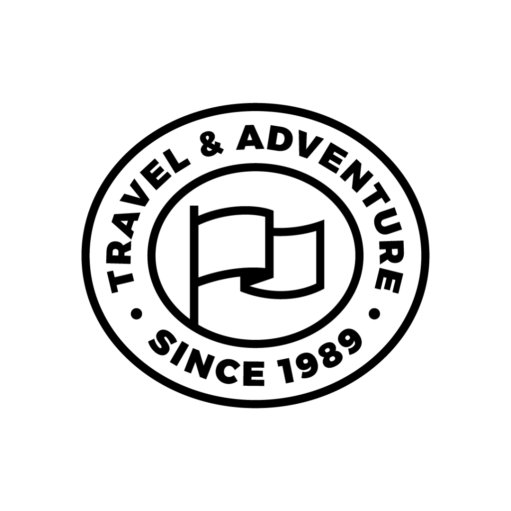 travel adventure flag camping scout find search