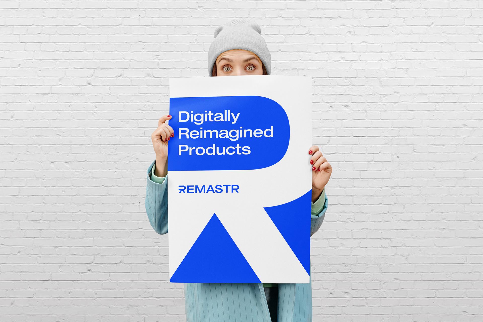 remastr poster typography